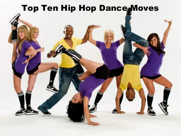 hip hop dance moves names list