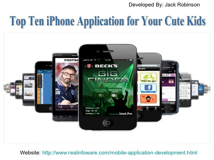 Top Ten iPhone Application for Your Cute Kids