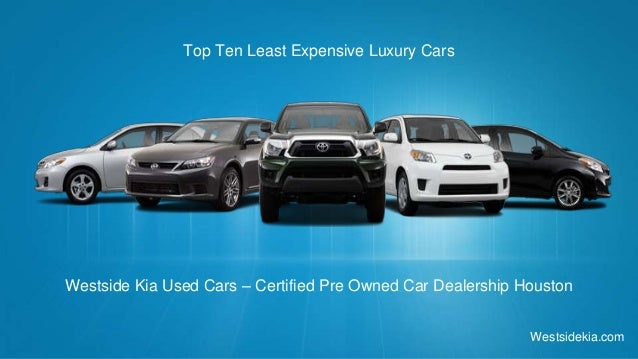 Top ten latest expensive luxury cars for Luxury pre owned motor cars