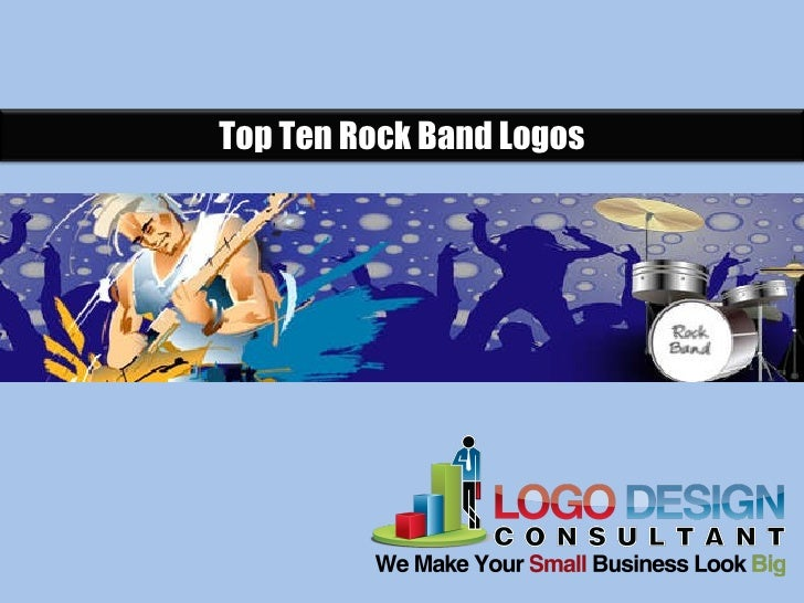 Top Ten Rock Band Logos