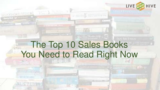 The Top 10 Sales Books You Need to Read Right Now