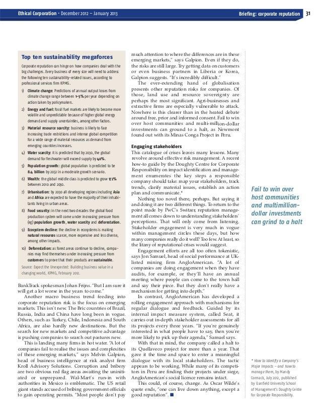 ECM Dec-Jan_Layout 1 10/12/2012 16:07 Page 31       Ethical Corporation • December 2012 – January 2013                    ...