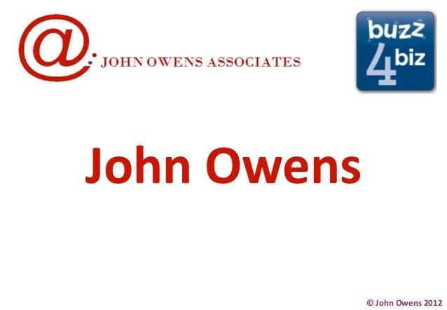 John Owens             © John Owens 2012