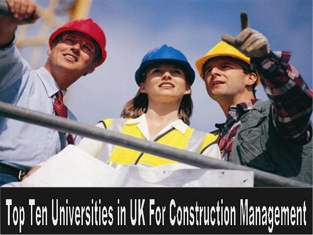 Construction Management college top 4
