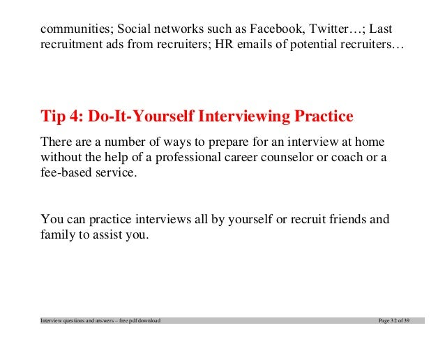 School Counselor Job Interview Questions And Answers. Guidance Counselor  Interview Questions And Answers .