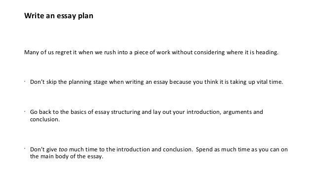 Time management essays