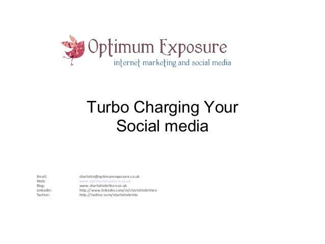 Top tips for social media