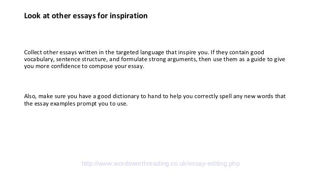 Best advice essay