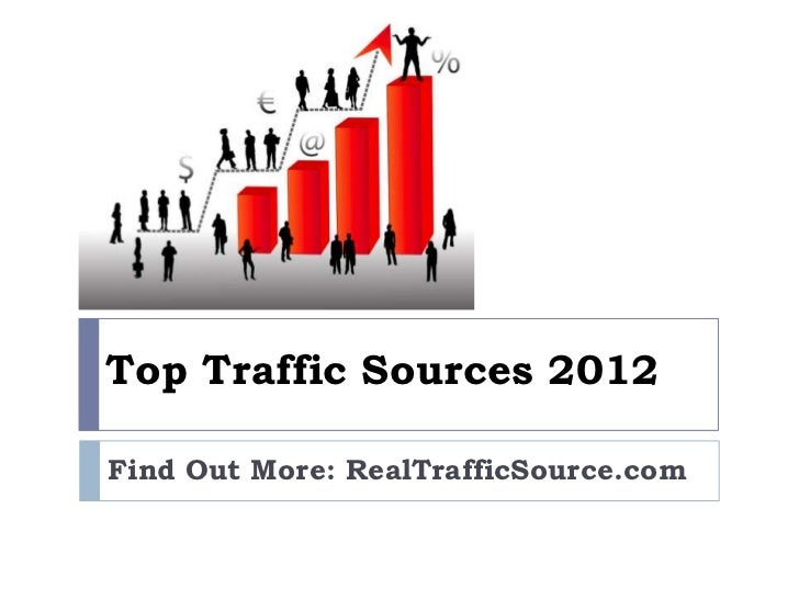 Top traffic sources 2012