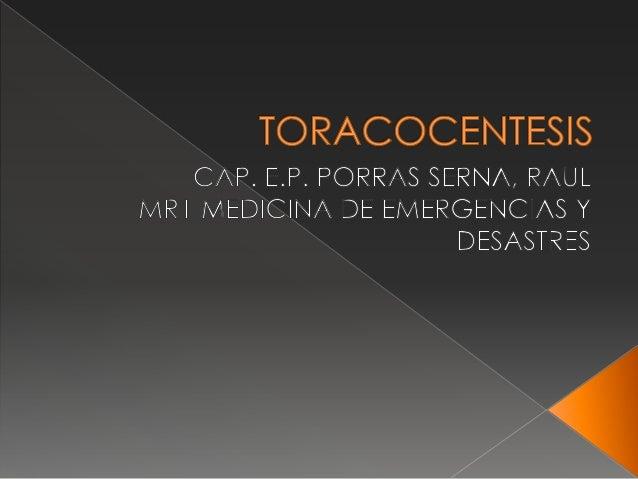  INTRODUCCION DE UN CATETER O TUBOPARA DRENAJE DE LIQUIDO O AIRE CONFINES DIAGNOSTICOS O TERAPEUTICOS.