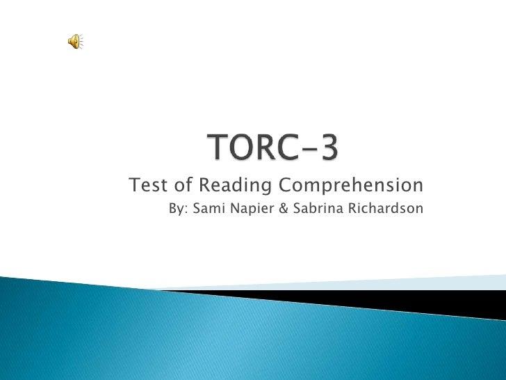Torc 3 final