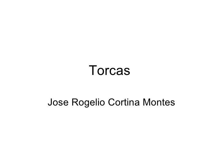 Torcas  Jose Rogelio Cortina Montes