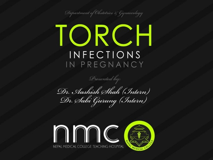 Torch infections in pregnancy   presentation