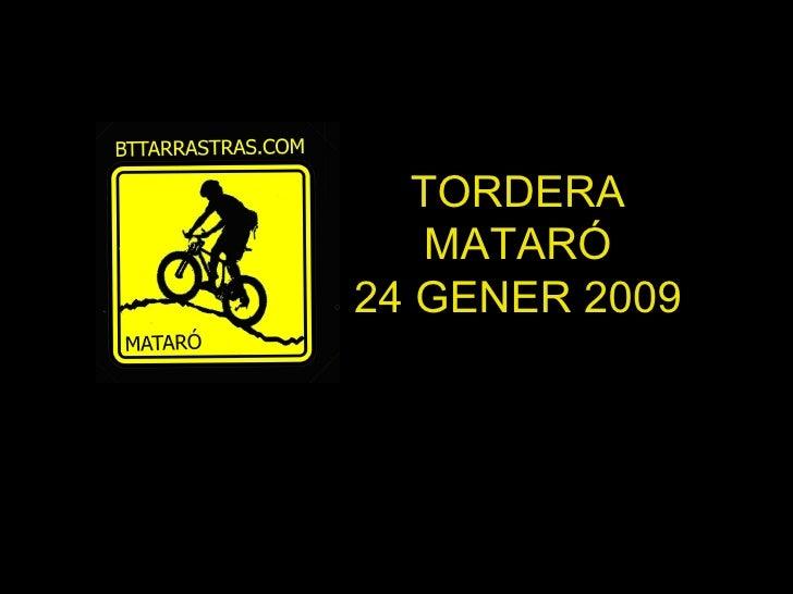 Tordera Mataro 24012009