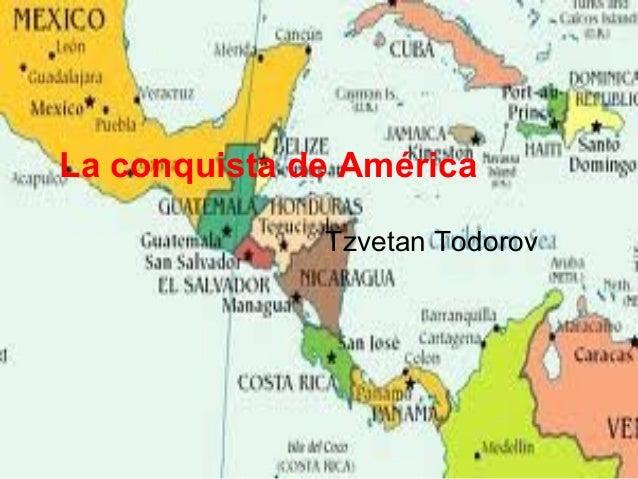 La conquista de América Tzvetan Todorov