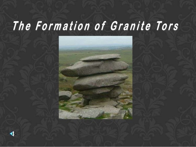 Granite Tors start to form when magma that has intruded into the crust cools to form a batholith. The softer rock above th...