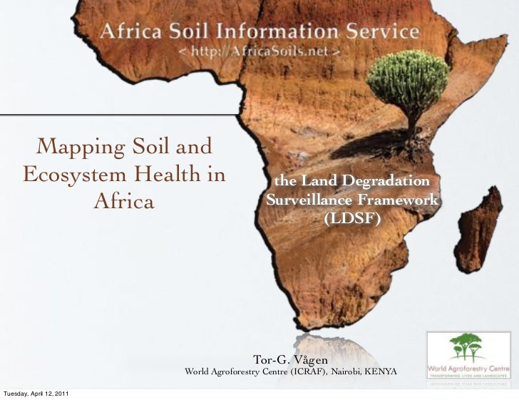 Mapping Soil and      Ecosystem Health in                    the Land Degradation            Africa                       ...