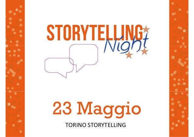 TORINO STORYTELLING