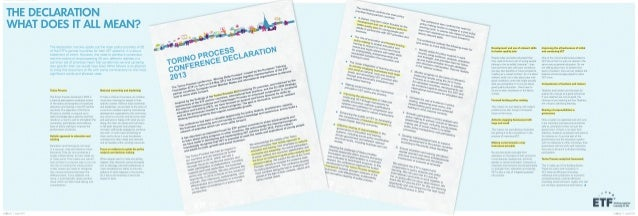 Torino process declaration 2013