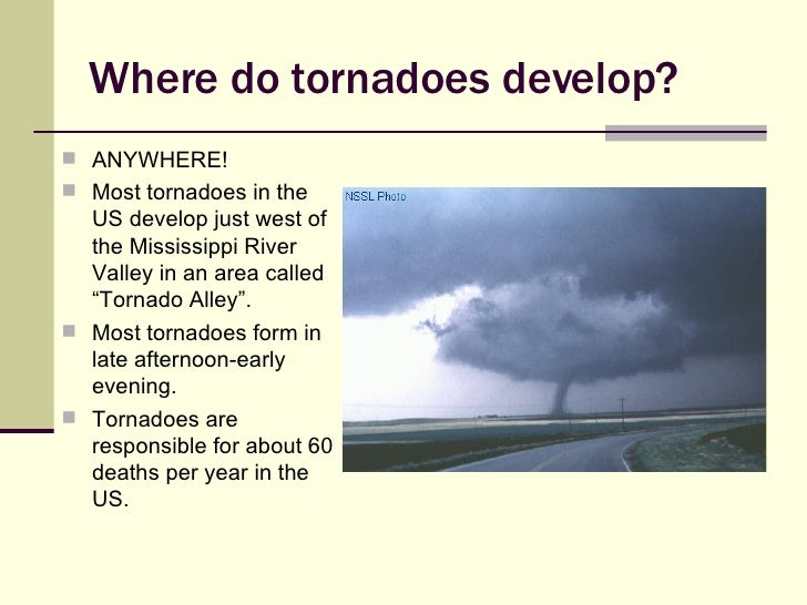 tornado presentation