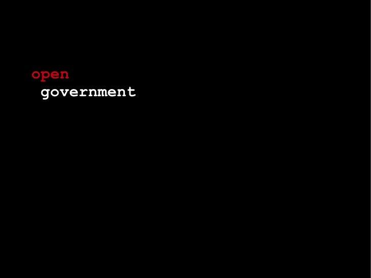 Open Government: Toronto Innovation Summit