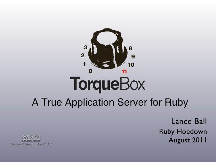 TorqueBox - Ruby Hoedown 2011