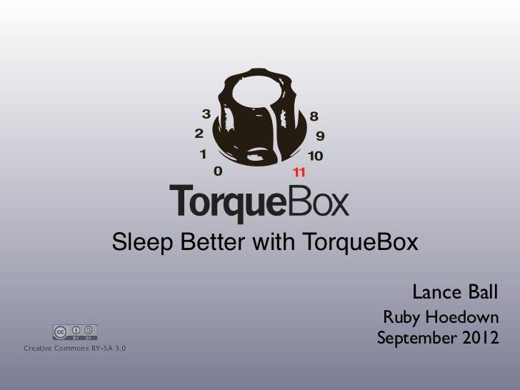 Torquebox rubyhoedown-2012