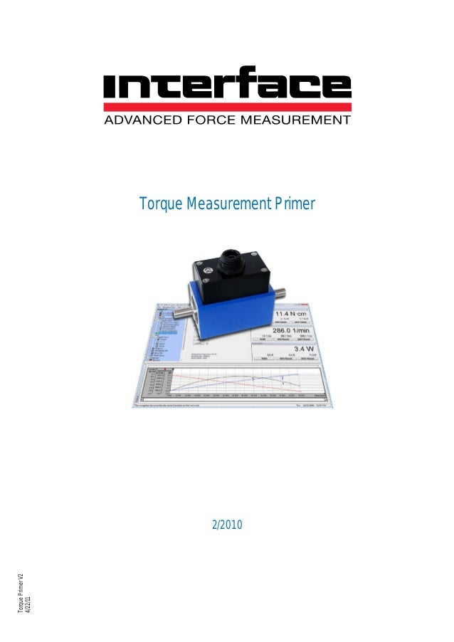 Torque Measurement Primer