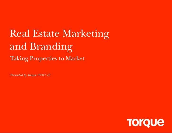 Torque Real Estate Marketing Case Studies
