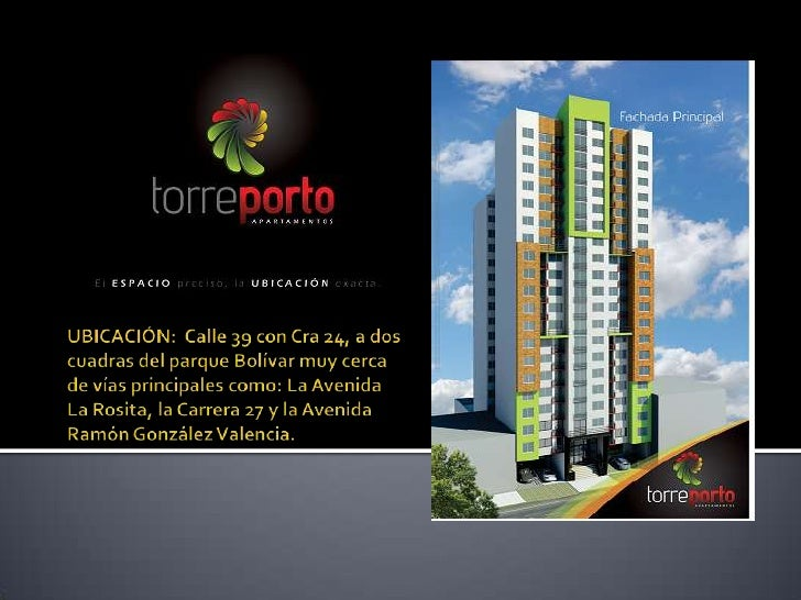 En una zona céntrica de la ciudad bonita, se construirá Torre Porto, un  complejo residencial de 2 torres ideadas para aqu...