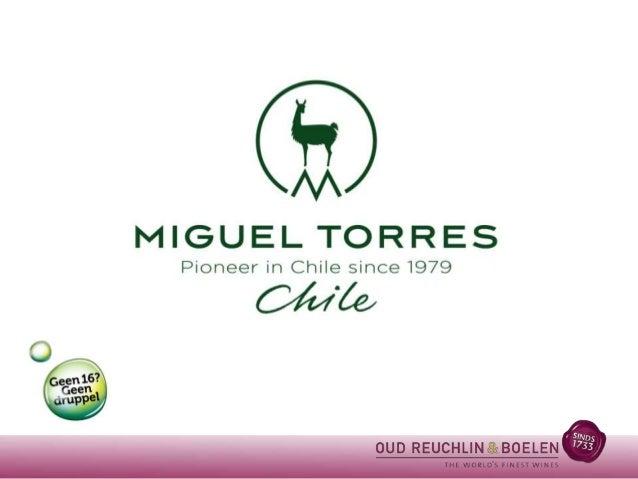 Torres Chili In 1979 kocht Miguel Torres een schitterend, maar verwaarloosd wijngoed van 200 hectare bij Curicó in  Chili,...