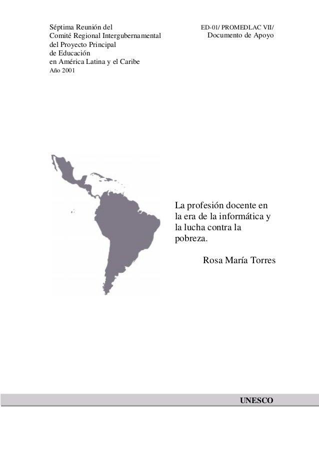 Séptima Reunión del Comité Regional Intergubernamental del Proyecto Principal de Educación en América Latina y el Caribe  ...