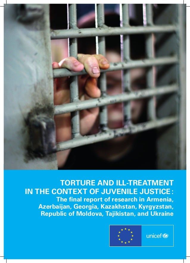 Torture and ill-treatment in the context of juvenile justice : The final report of research in Armenia, Azerbaijan, Georgi...
