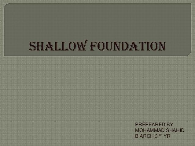 Tos ppt foundation