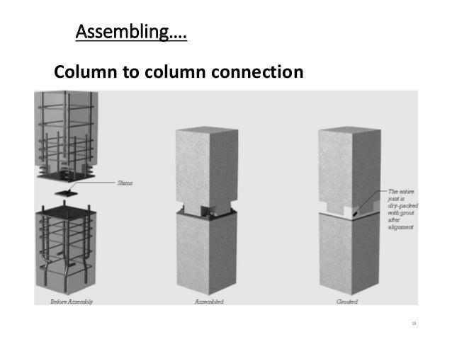Tos syllabus for Prefab columns