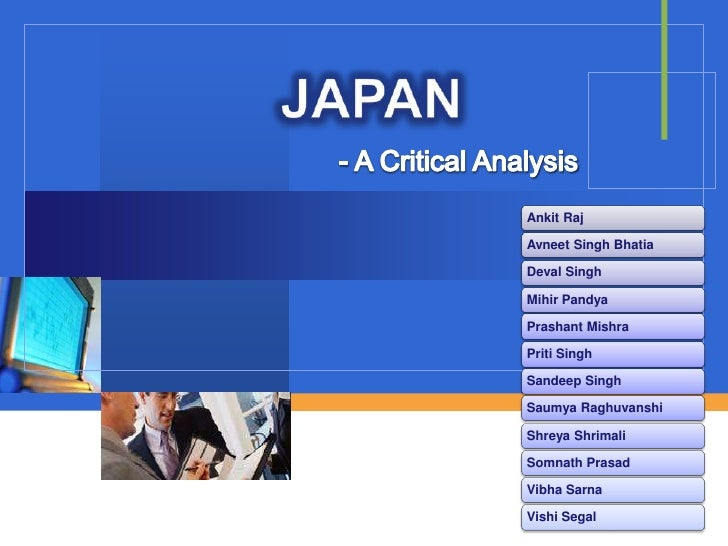 JAPAN<br />- A Critical Analysis<br />