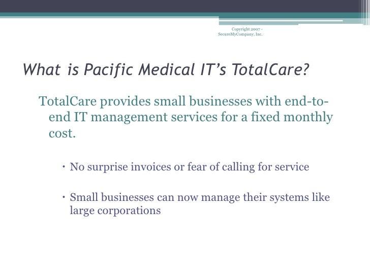 Total Care Plan