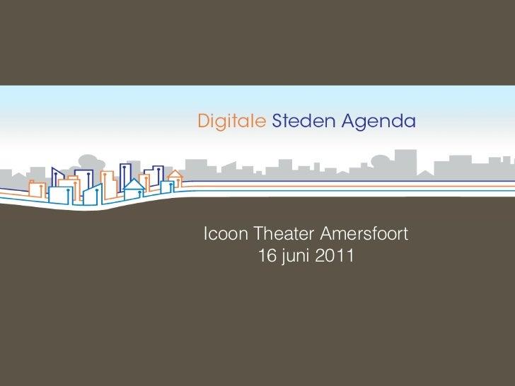 Werkconferentie Digitale Agenda