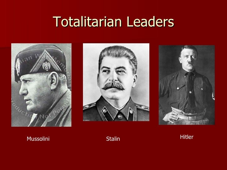 germany under hitler an example of totalitarian state Hitler was ultimately responsible for the direction that germany was headed in however he did not fully achieve all aspects of the model totalitarian state, according to the historians' definition.