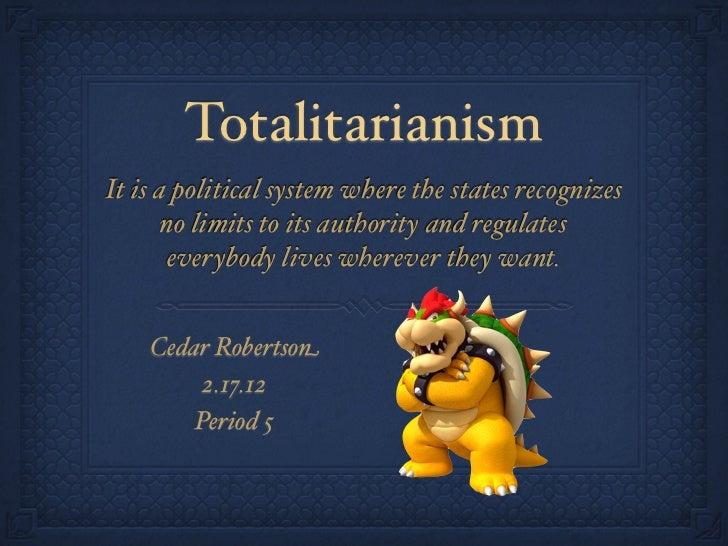 Totalitarianism Vocabulary