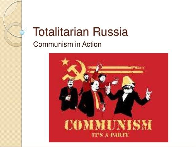 Totalitarian russia
