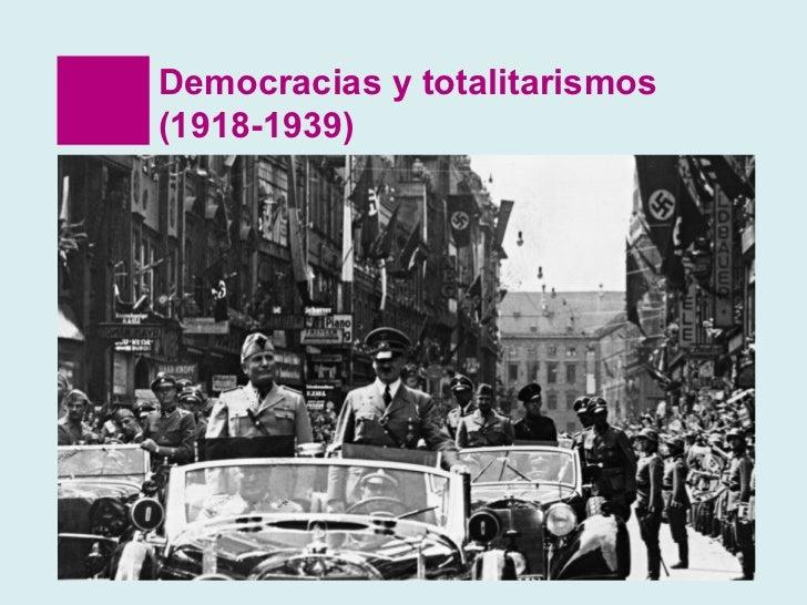 Totalitarismos primero medio