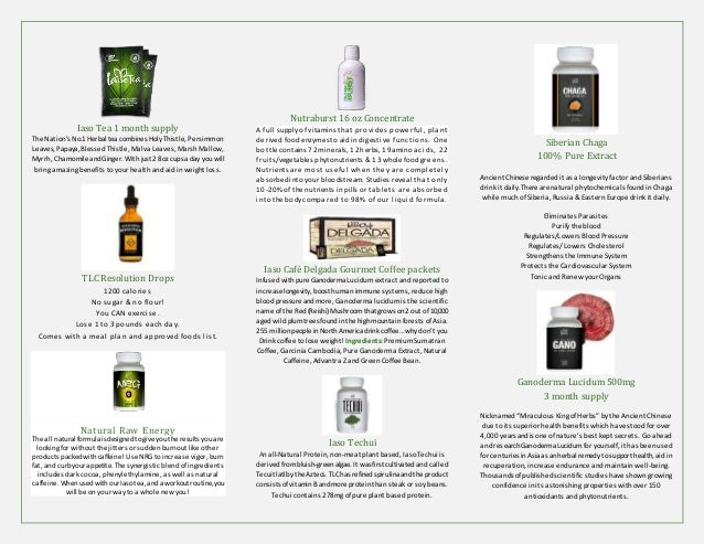 Total Life Changes Brochure with Product Information and ...