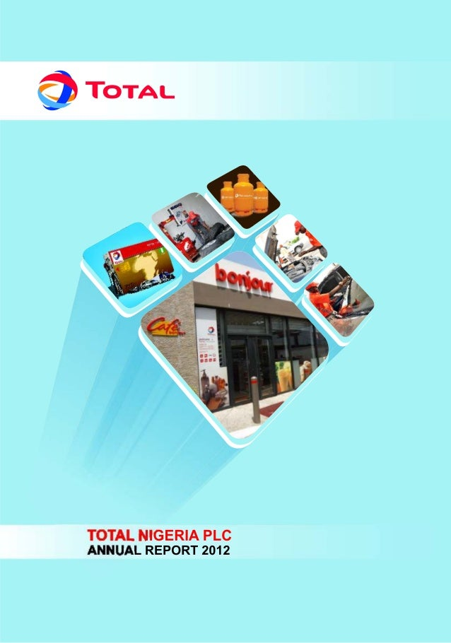Total Nigeria Annual Report 2012