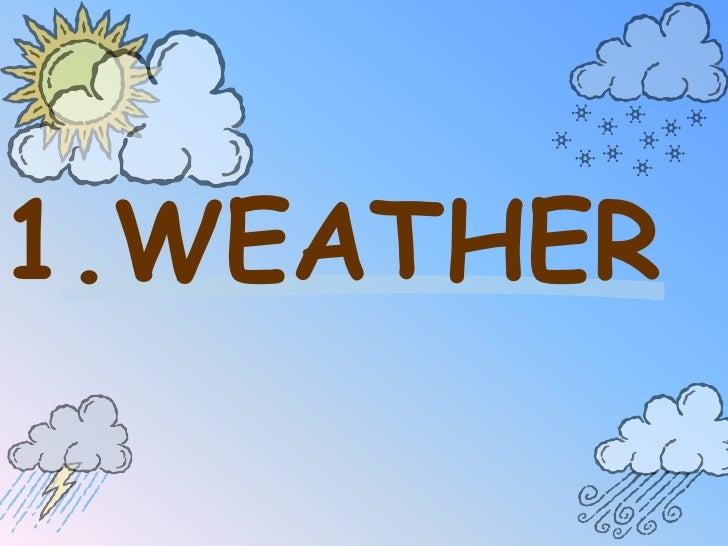 Total Weather (in progress)