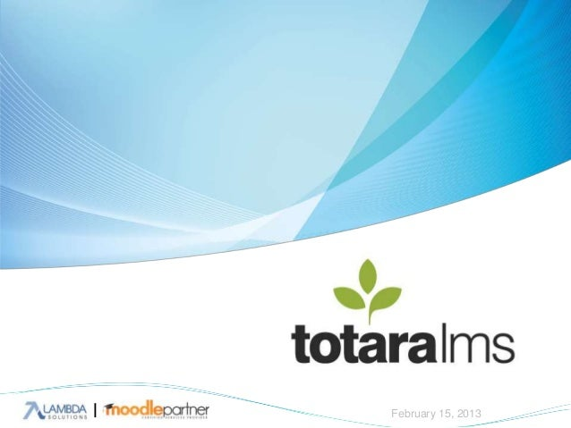 Totara - Moodle for Corporate Training