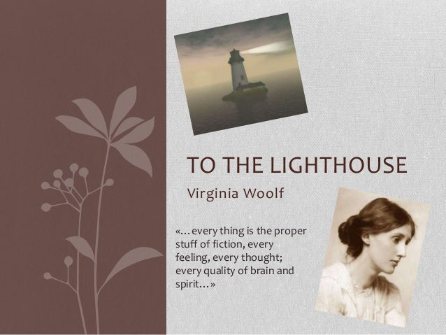 To the lighthouse   Naomi Carrieri