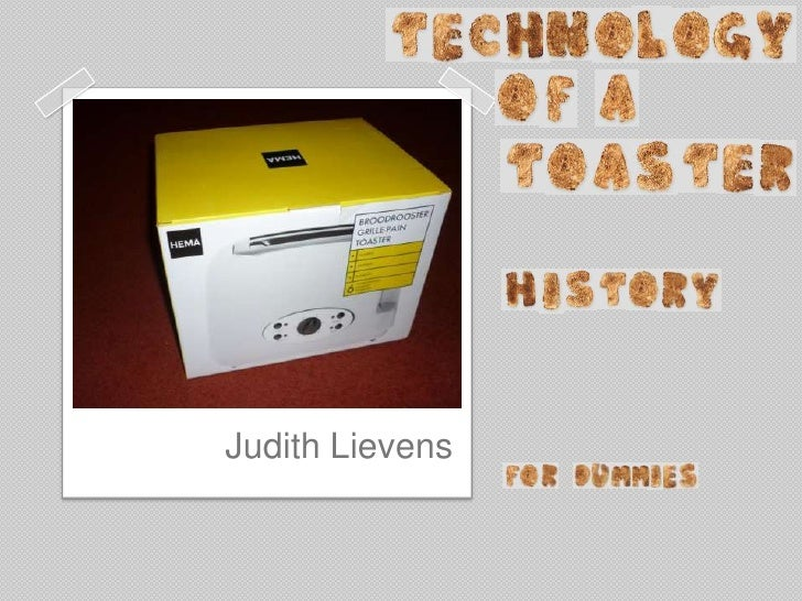 Technology of a Toaster _ history