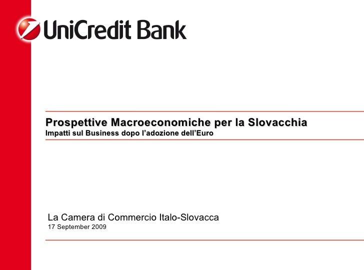 Prospettive Macroeconomiche per la Slovacchia