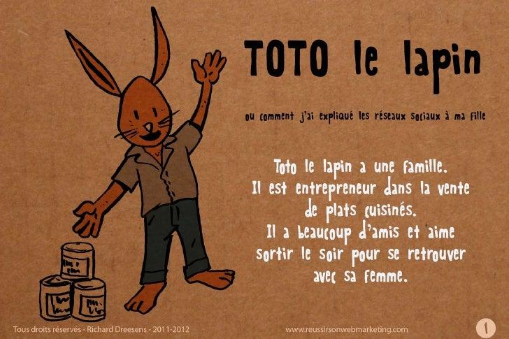 Toto lapin et les réseaux sociaux
